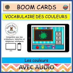 BOOM Cards™ Les couleurs - vocabulaire