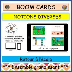 BOOM Cards™ Ensemble grandissant Septembre