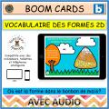 BOOM™ Cards Vocabulaire des formes 2D Bonbon