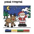 Verbes à colorier - Noël