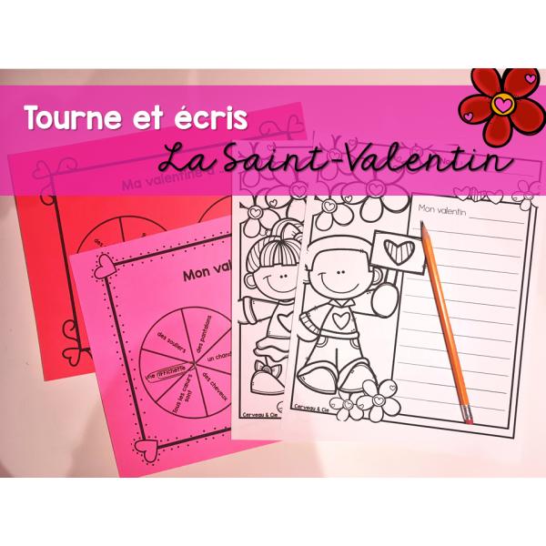 Tourne et écris - Saint-Valentin