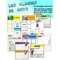 Ensemble : Les classes de mots