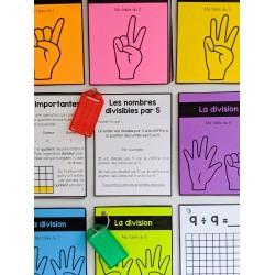 La fluidité mathématique - la division