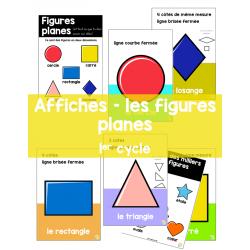 Affiches - Les figures planes