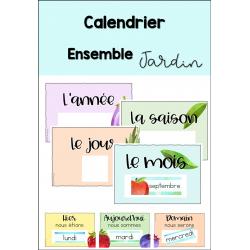Calendrier de classe - LE JARDIN