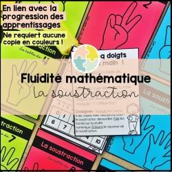 La fluidité mathématique - les soustractions
