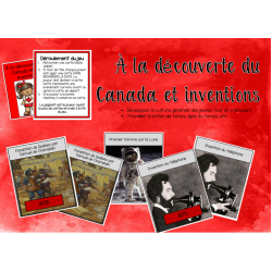 Jeu ''TimeLine'' Canada et Inventions