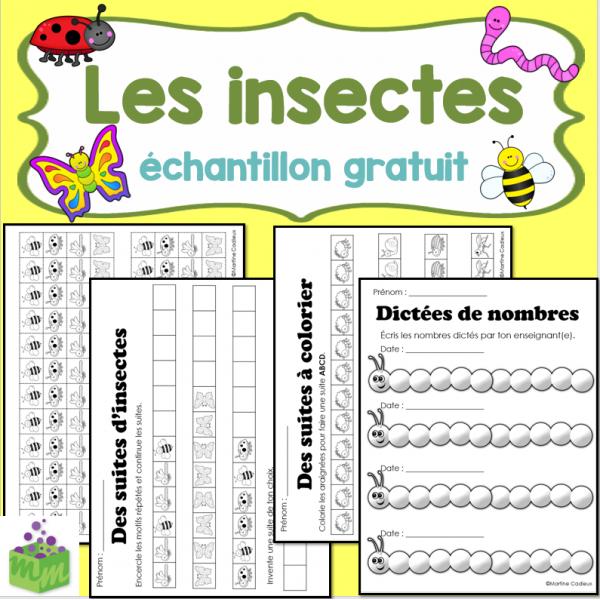 Les insectes échantillon GRATUIT