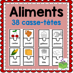 Guide alimentaire casse-têtes aliments