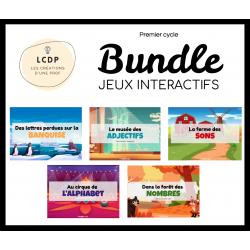 BUNDLE - Jeux interactifs 1er cycle