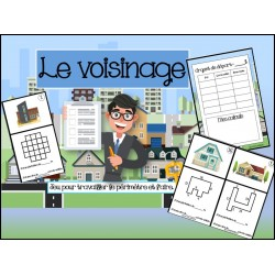ATELIER/JEU - Le voisinage - 2e cycle