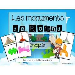 ATELIER/JEU - Les monuments de Roland - 2e cycle