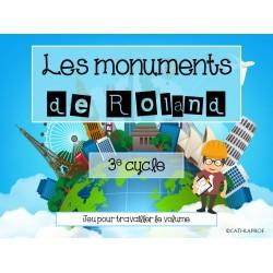 ATELIER/JEU - Les monuments de Roland - 3e cycle