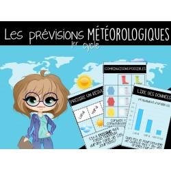 ATELIER/JEU - Les prévisions météorologiques