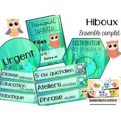 Ensemble complet d'affichage - HIBOUX