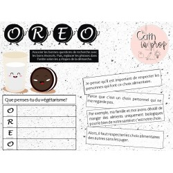 Méthode OREO - Texte argumentatif