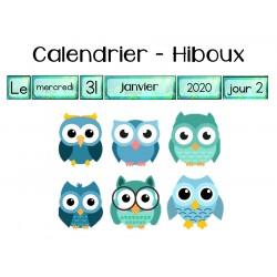Calendrier - HIBOUX
