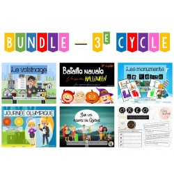 BUNDLE - Ateliers 3e cycle