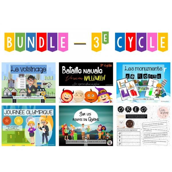 BUNDLE - Ateliers 3e cycle