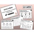 Cartes à tâches - Révision mathématiques 3e année