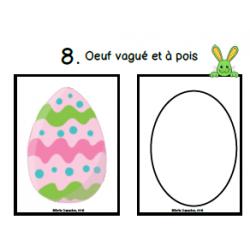 Oeufs de Pâques à modeler