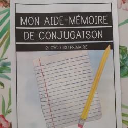 Aide-mémoire de conjugaison