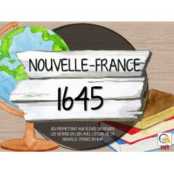 Atelier - Univers social - Nouvelle France 1645