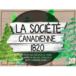 Atelier - Univers social - Société can. 1820