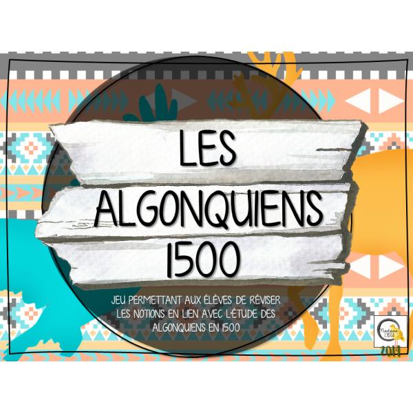 Atelier - Univers social - Algonquiens 1500