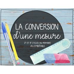 Jeu conversion mesure