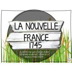 Atelier - Univers social - Nouvelle France 1745