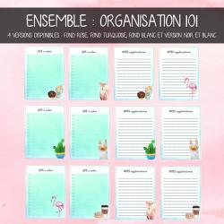 Ensemble : organisation 101
