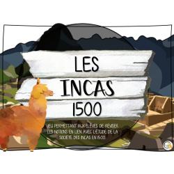 Atelier - Univers social - Incas 1500