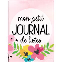 Mon petit journal de listes -  flamant