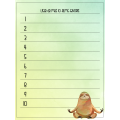 Mon petit journal de listes - paresseux