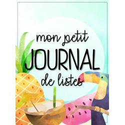 Mon petit journal de liste - tropical
