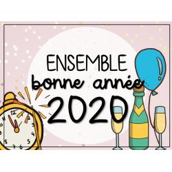 Ensemble - Bonne année 2020