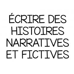 Tableau d'ancrage - Écriture narrative fictive