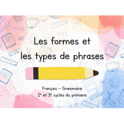Ensemble - Les formes et les types de phrases