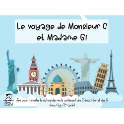 Le voyage de Monsieur C et madame G!