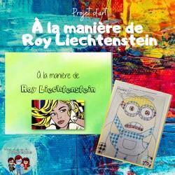 À la manière de Roy Liechtenstein