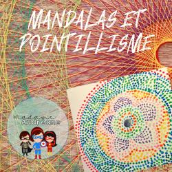 Mandalas et pointillisme