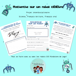 Recherche de robots célèbres