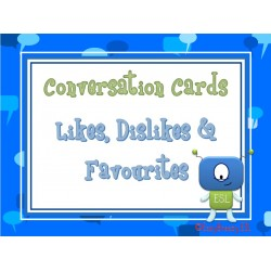 55 Conversation Cards: Likes & Favourites