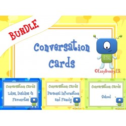 Conversation Cards Bundle (a Total of 185 Cards!)