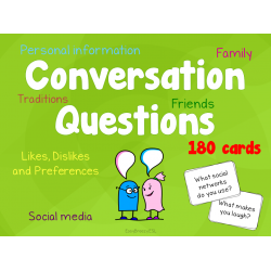 Conversation Questions, 180 cards