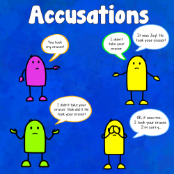 Accusations | Past Simple Tense Activity