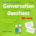 Conversation Questions, 180 cards