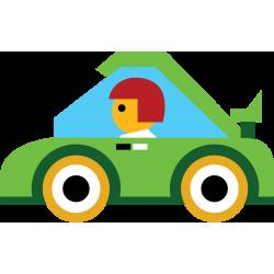 Guide pour les longs trajets d'auto 2 enfants