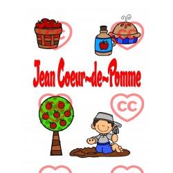 Jean-Coeur-de-Pomme; imagier, mots, activités